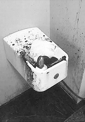Water Fountain With Sludge Photo Credit General Services Administration