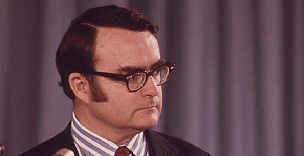 Former U.S. EPA Administrator Bill Ruckelshaus. Photo credit: Charles O'Rear/National Archives and Records Administration