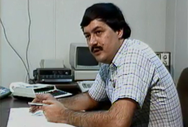 Young Don Blankenship. Photo credit: Blankenship/Youtube