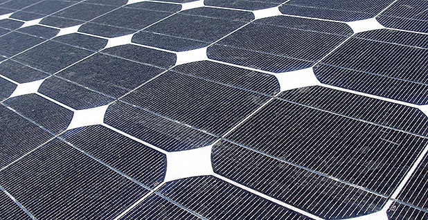 Solar panels. Photo credit: Bureau of Land Management