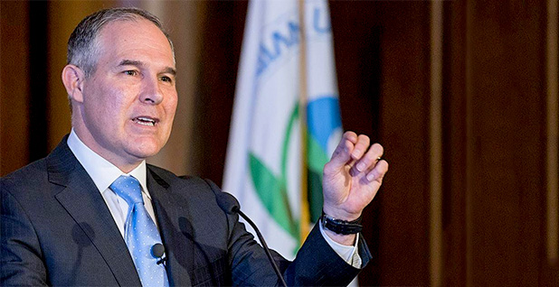 Scott Pruitt. Photo credit: EPA