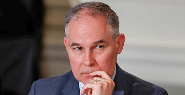 Scott Pruitt. Photo credit: Carolyn Kaster/Associated Press