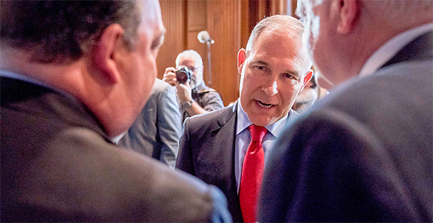 EPA Administrator Scott Pruitt. Photo credit: Andrew Harnik/Associated Press