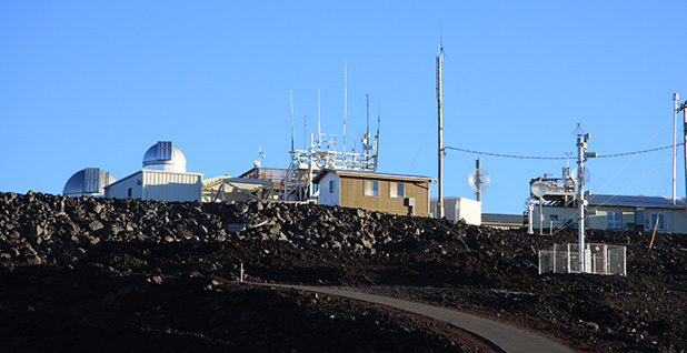 Hawaii's Mauna Loa observatory, an atmospheric baseline station. Photo credit: sharloch/Flickr