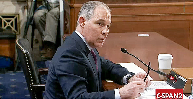 Watch Scott Pruitt accidentally admit to violating federal law