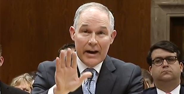 Scott Pruitt. Photo credit: C-SPAN