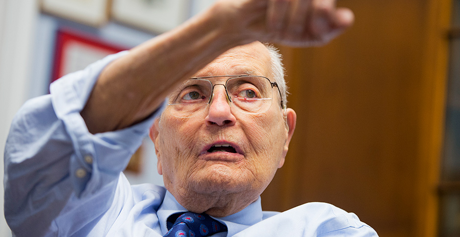Rep. John Dingell in 2014. Photo credit: Tom Williams/CQ Roll Call/Associated Press