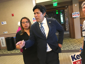 Kevin de León. Photo credit: Debra Kahn/E&E News