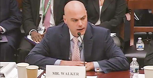 Bruce Walker. Photo credit: House Science, Space and Technology Committee