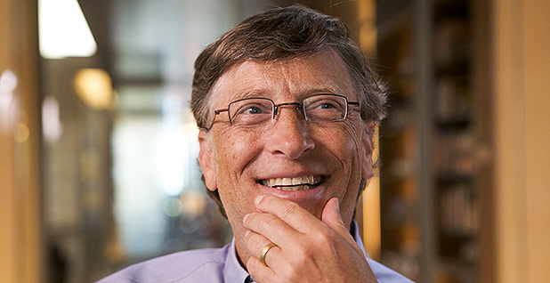 Microsoft Corp. co-founder Bill Gates. Photo credit: Michelle Andonian/Flickr