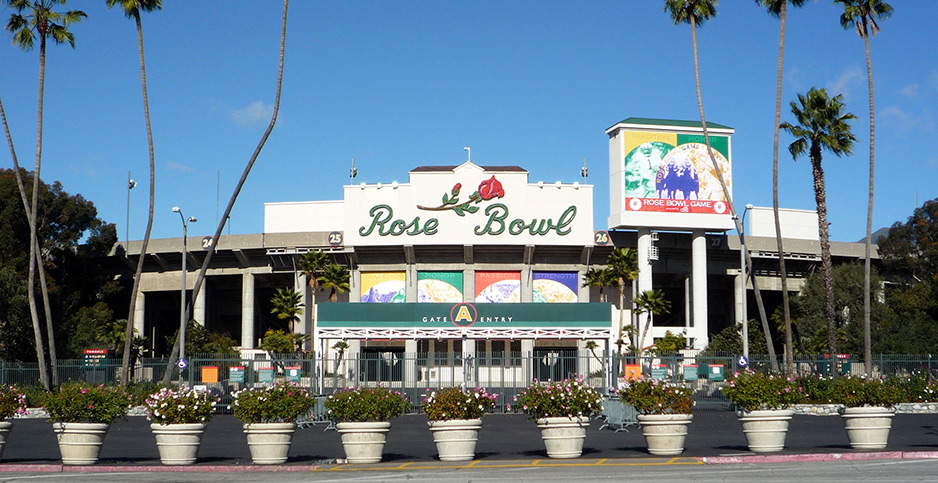 Rose Bowl. Photo credit: Bobak Ha'Eri/Wikipedia