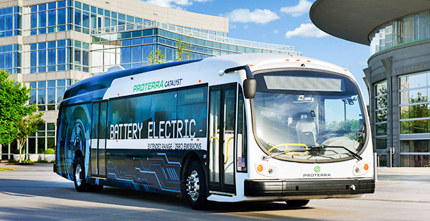 Electric bus. Photo credit: Proterra