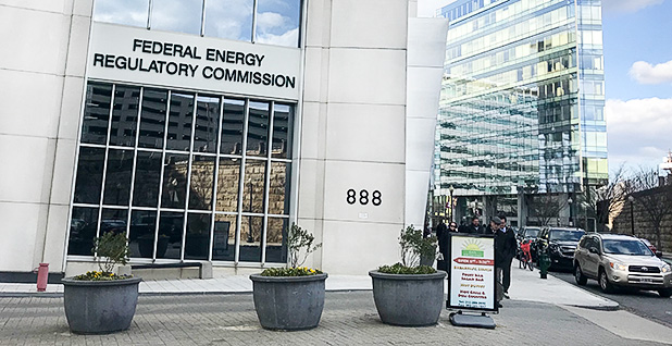 Federal Energy Regulatory Commission headquarters in Washington. Photo credit: Ellen M. Gilmer/E&E News