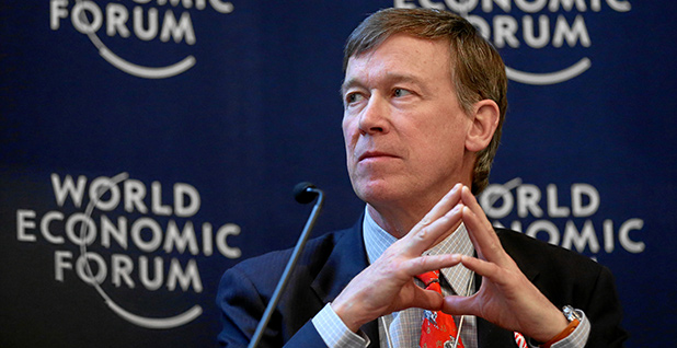 John Hickenlooper. Photo credit: World Economic Forum/Flickr