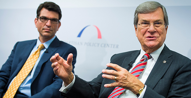 Former Senate Majority Leader Trent Lott (R-Miss.) Photo credit: Bipartisan Policy/Flickr