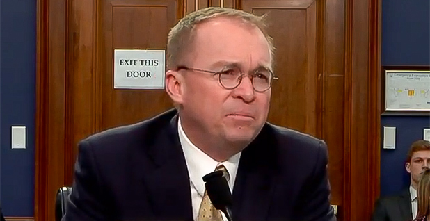 Mick Mulvaney. Photo credit: House Appropriations Committee