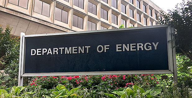 Energy Department headquarters in Washington. Photo credit: Claudine Hellmuth/E&E News