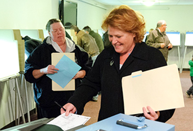 Sen. Heidi Heitkamp (D-N.D.). Photo credit: @HeidiHeitkamp/Twitter