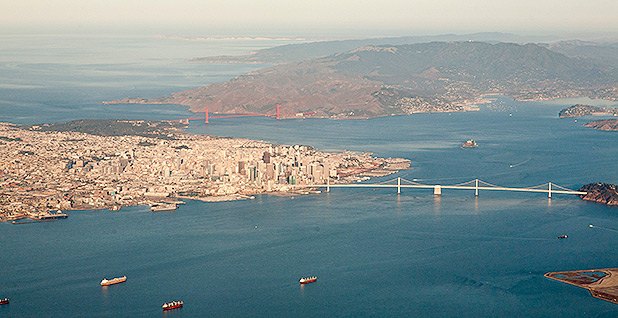 Aerial view of San Francisco. Photo credit: Doc Searls/Wikimedia Commons