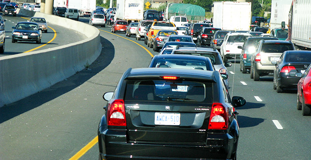 Cars on a highway. Photo credit: Danielle Scott/Flickr