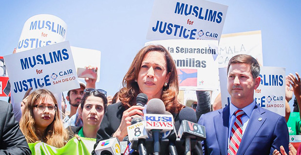 Sen. Kamala Harris (D-Calif.). Photo credit: @SenKamalaHarris/Twitter