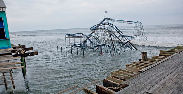 Superstorm Sandy damage. Photo credit: Anthony Quintano/Flickr