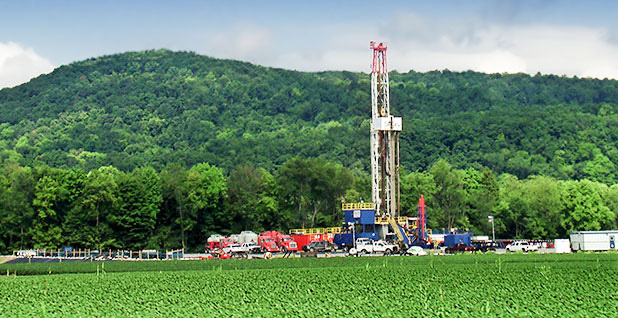 Fracking marcellus shale. Photo credit: Wikipedia