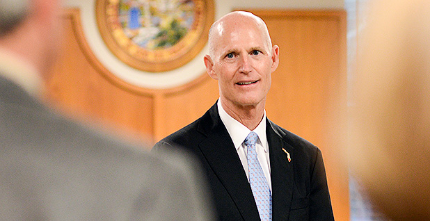 Rick Scott. Photo credit: Florida Fish and Wildlife/Flickr