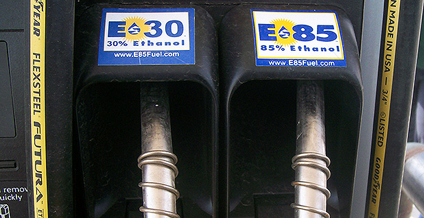 Ethanol pumps. Photo credit: Department of Agriculture/Flickr