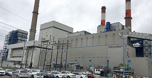Thomas Hill power plant in Clifton Hill, Mo. Photo credit: Jeffrey Tomich/E&E News