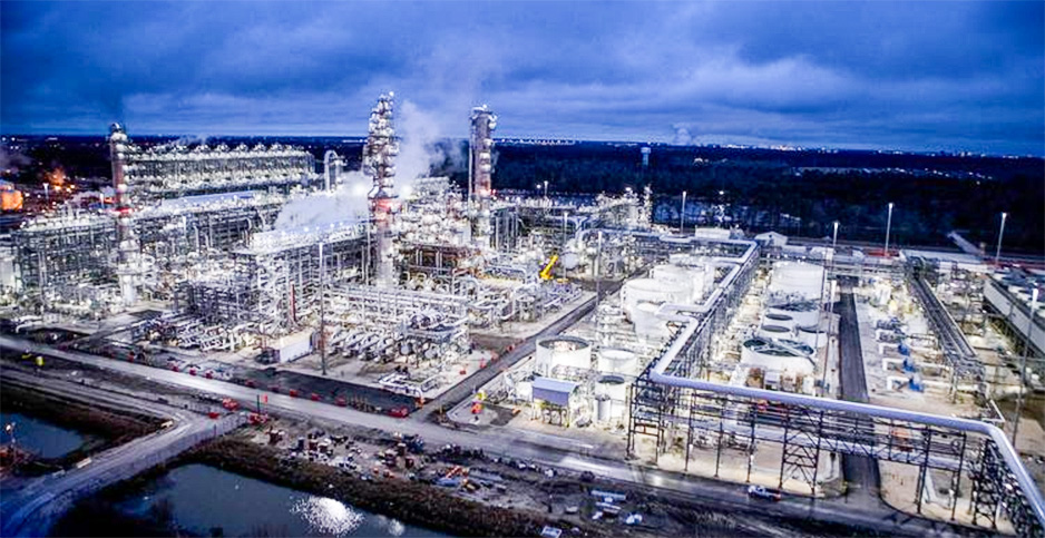 Baytown ethane cracker. Photo credit: Marc Marriott/Chevron Phillips Chemical Co.