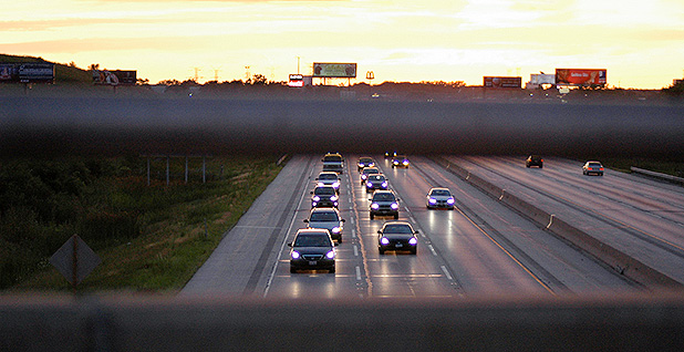 Cars on a highway. Photo credit: Eva Cristescu/Flickr