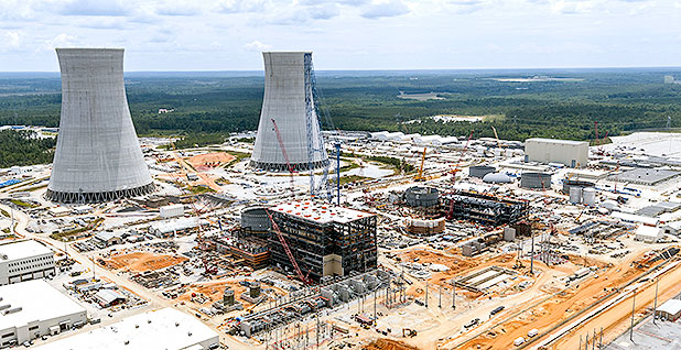 Construction on units 3 and 4 of Plant Vogtle. Photo credit:Georgia Power Co.