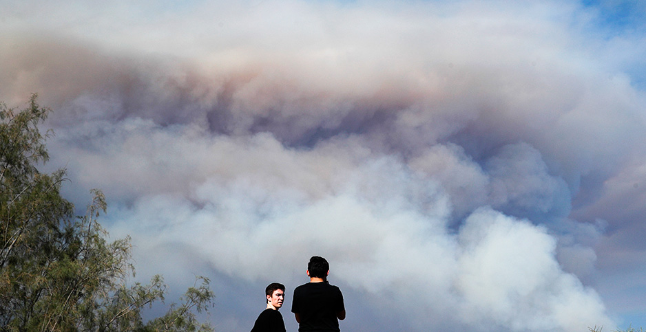 WILDFIRE: Survivors return, but there\'s a cost -- Friday, August 10 ...