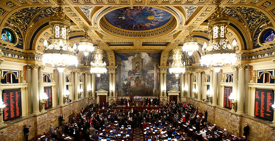 Pennsylvania Legislature. Photo credit: Matt Rourke/Associated Press