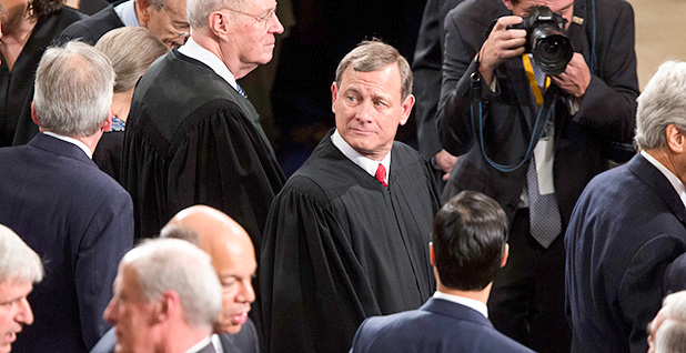 John Roberts. Photo credit: Andrew Harrer/Bloomberg