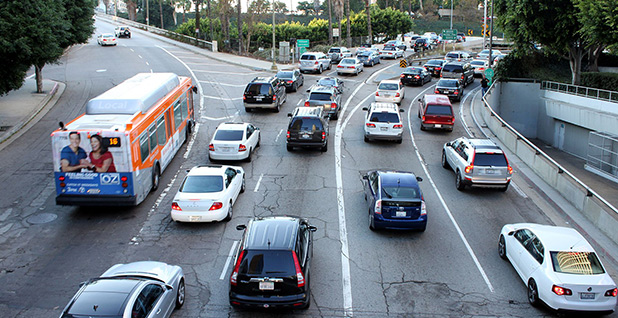 Traffic jam in Los Angeles. Photo credit: Prayitno/Wikimedia Commons