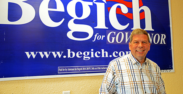 Mark Begich. Photo credit:  Margaret Kriz Hobson/E&E News