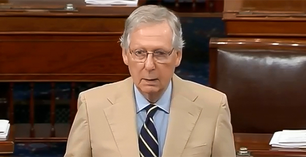 Sen. Mitch McConnell (R-Ky.). Photo credit: C-SPAN