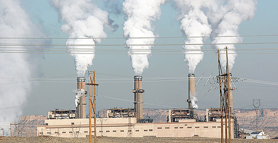 Coal power plant. Photo credit: Los Alamos National Laboratory.