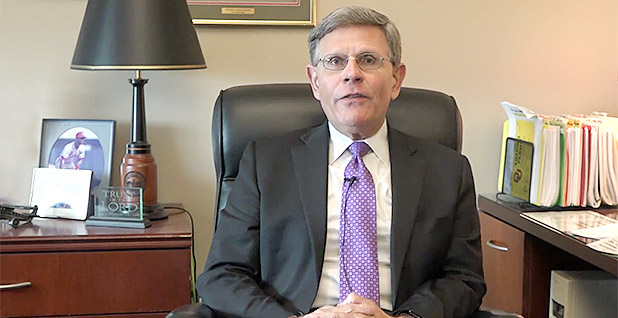 Kelvin Droegemeier. Photo credit: University of Oklahoma School of Meteorology/YouTube