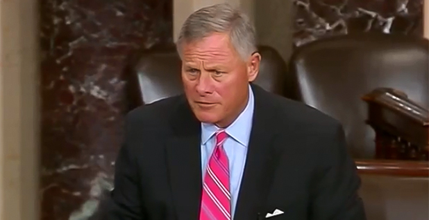 Sen. Richard Burr (R-N.C.). Photo credit: C-SPAN