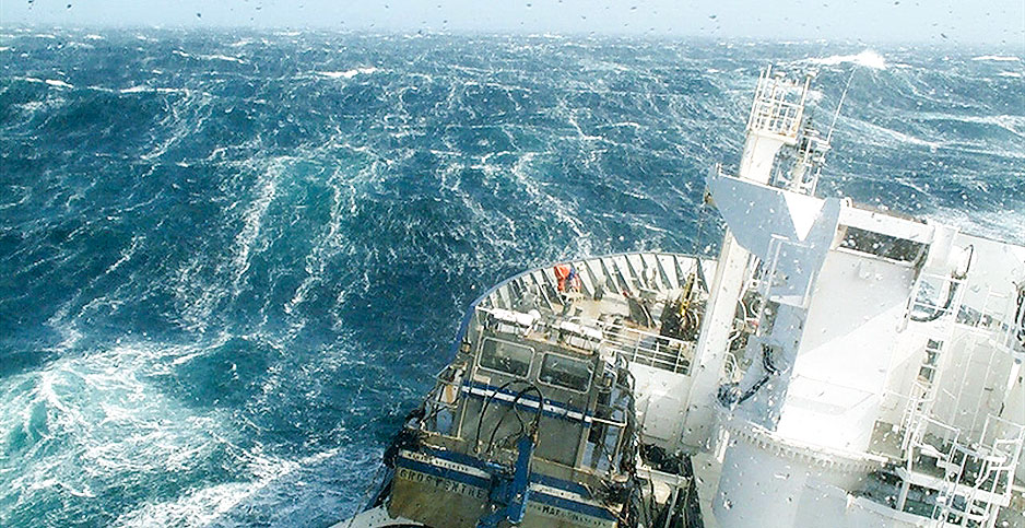 SCIENCE: This stormy, mysterious ocean might be soaking up less CO2 ...