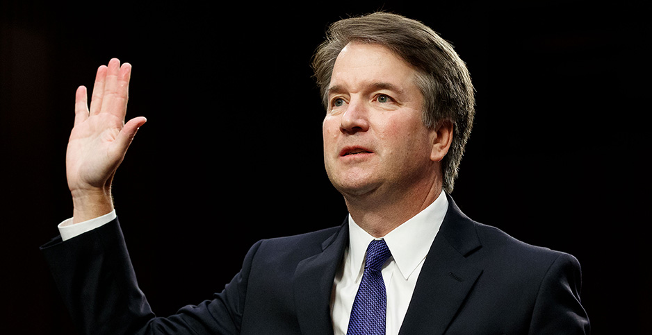 Brett Kavanaugh SCOTUS. Photo credit: Ting Shen/Xinhua News Agency/Newscom