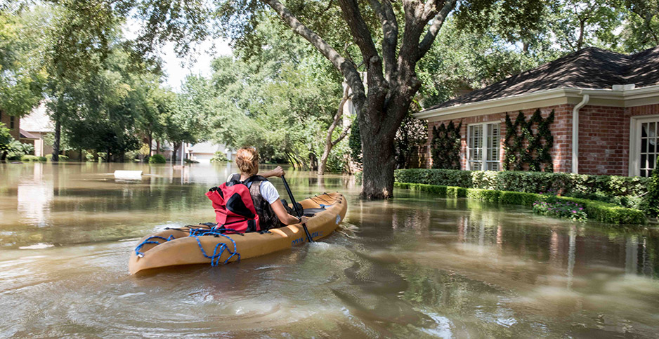 Hurricane Harvey floods. Photo credit: Carolina Sanchez-Monge/ZUMA Press/Newscom