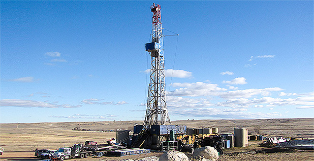 Gas well. Photo credit: Interior Department