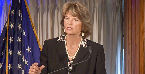 Senate Energy and Natural Resources Chairwoman Lisa Murkowski (R-Alaska). Photo credit: National Clean Energy Week/YouTube