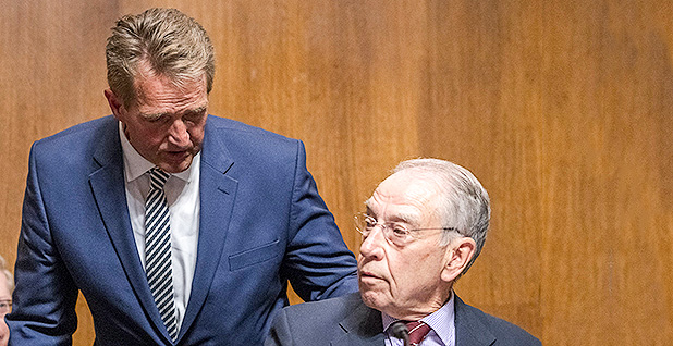 Flake vows to vote 'no' if Supreme Court nominee lied