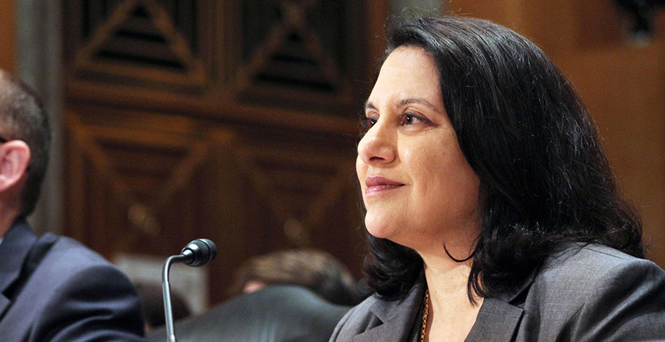 Neomi Rao. Photo credit: Senate Homeland Security and Governmental Affairs Committee