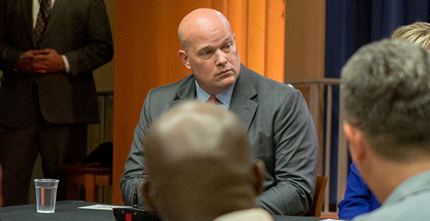 Matthew Whitaker. Photo credit: Allison Shelley/Reuters/Newscom